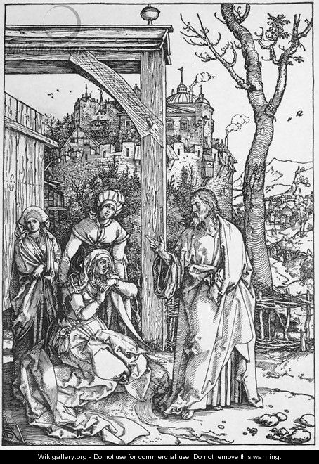 Life of the Virgin 16. Christ Taking Leave of his Mother - Albrecht Durer