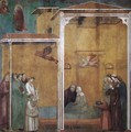 Legend of St Francis 27. Confession of a Woman Raised from the Dead - Master of Saint Cecilia