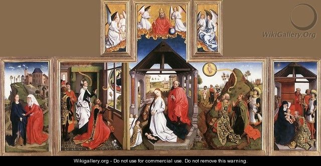 Nativity Triptych - Unknown Painter