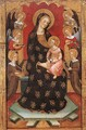 Madonna with Angels Playing Music - Pere Serra