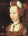 Portrait of Mary of Burgundy - Unknown Painter