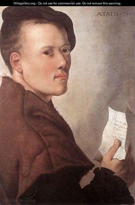 Portrait of a Young Man - Unknown Painter