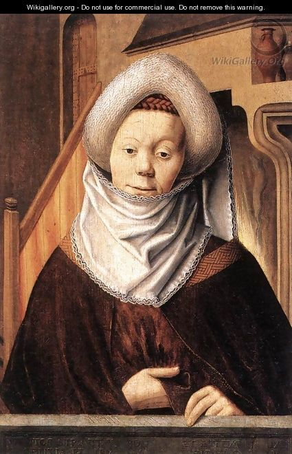 Portrait of a Woman - German Unknown Master