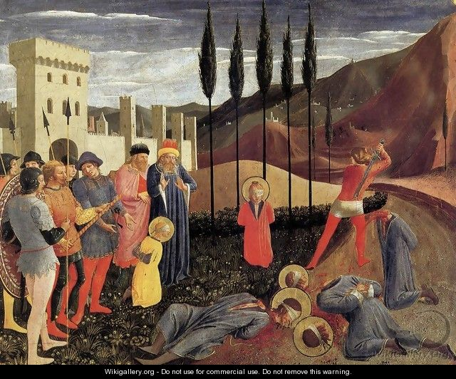 Beheading of Saint Cosmas and Saint Damian - Fra (Guido di Pietro) Angelico