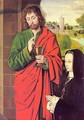 Anne of France presented by Saint John the Evangelist - Unknown Painter