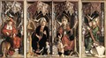 Altarpiece of the Church Fathers - Michael Pacher