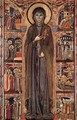 Altarpiece of St Clare - Italian Unknown Master