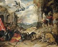 Allegory of War - Pieter The Younger Brueghel