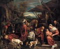 Adoration of the Magi - Jacopo Bassano (Jacopo da Ponte)