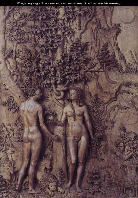 Adam and Eve - Unknown Painter