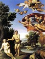 Adam and Eve - Domenichino (Domenico Zampieri)