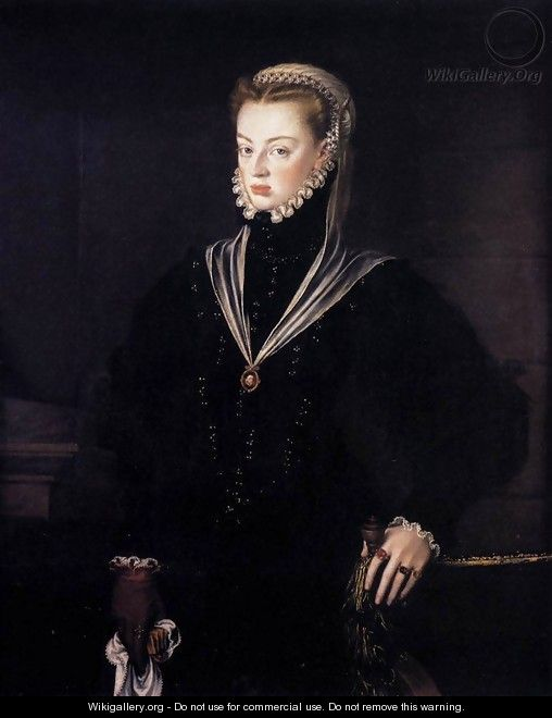 Dona Juana, Princess of Portugal - Alonso Sanchez Coello
