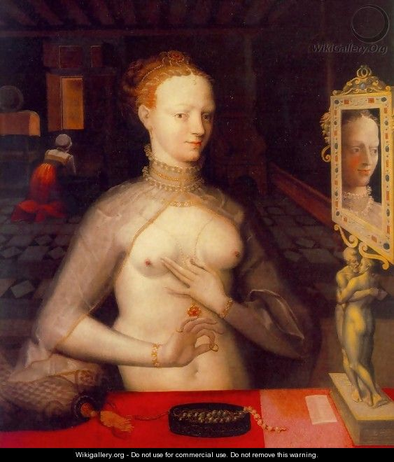 Diane de Poitiers - Master of the Fontainebleau School