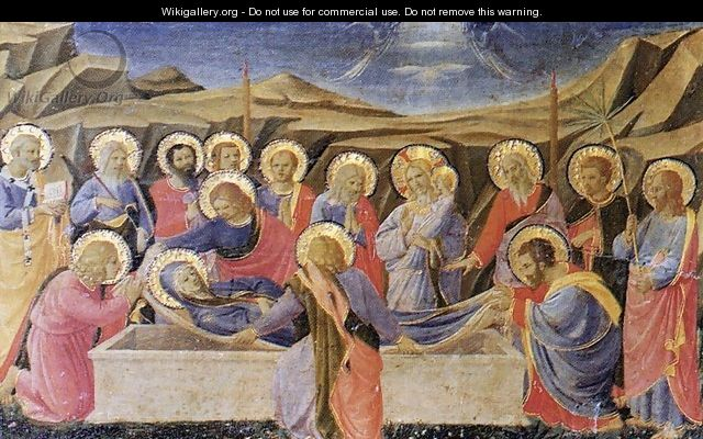 Death of the Virgin - Fra (Guido di Pietro) Angelico