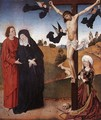 Christ on the Cross with Mary, John and Mary Magdalene - Master of the Life of the Virgin