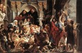 Christ Driving the Merchants from the Temple - Jacob Jordaens