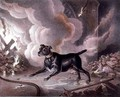 The London Firemans Dog - William Heath