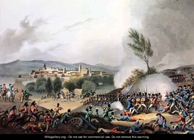 Battle of Vittoria - (after) Heath, William