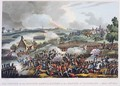 The Centre of the British Army in Action at the Battle of Waterloo - (after) Heath, William