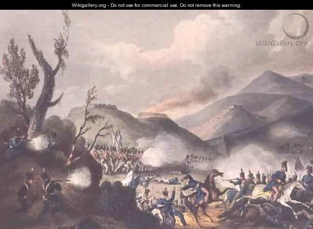 Battle of Busaco - (after) Heath, William