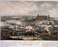 Centre of the British Army at La Haye Sainte during the Battle of Waterloo - (after) Heath, William
