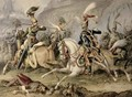 The Cavalry Battle - William Heath