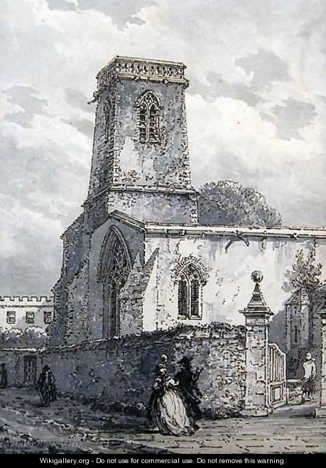 St Peter in the East Church - Thomas Hearne