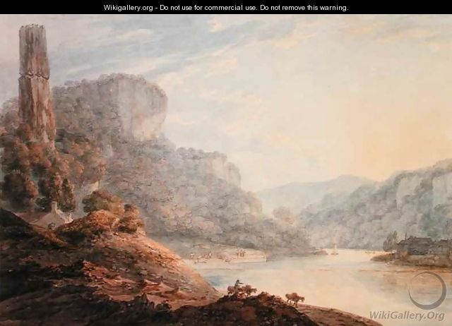 Symonds Yat on the Wye - Thomas Hearne
