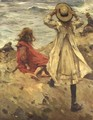 Children at the Seaside - Frank Gascoigne Heath