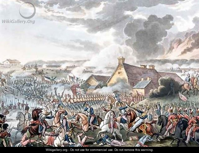 The Battle of Waterloo - (after) Heath, William
