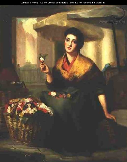The Flower Seller - B.G. Head