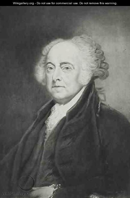 John Adams 2nd President of the United States of America - (after) Healy, George Peter Alexander
