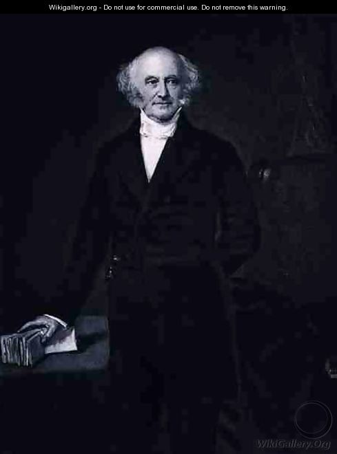 Martin Van Buren 8th President of the United States of America - (after) Healy, George Peter Alexander