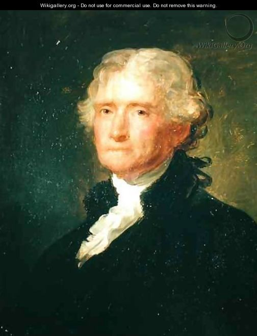 Portrait of Thomas Jefferson - George Peter Alexander Healy