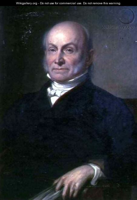 Portrait of John Quincy Adams - George Peter Alexander Healy
