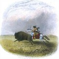 Buffalo hunt - (after) Eastman, Captain Seth