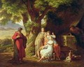 Moses and the Daughters of Jethro - Sir Charles Lock Eastlake