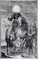 Defaced equestrian portrait of Charles I - (after) Dyck, Sir Anthony van