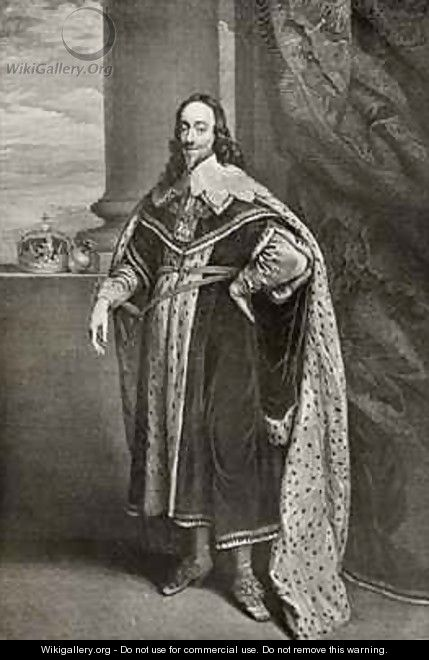 Charles I - (after) Dyck, Sir Anthony van