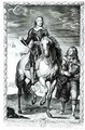 Equestrian portrait of Oliver Cromwell 1599-1658 - (after) Dyck, Sir Anthony van