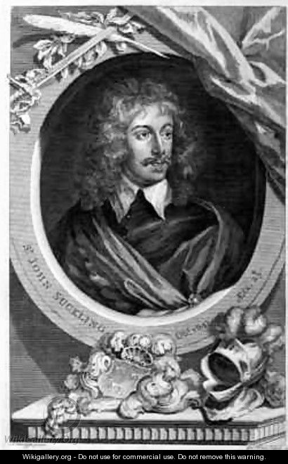 Sir John Suckling - (after) Dyck, Sir Anthony van