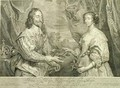 Charles I 1600-49 and Henrietta Maria 1609-69 - (after) Dyck, Sir Anthony van
