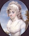 Miniature of unknown woman - Henry Edridge