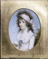 Portrait Miniature of Lydia or Elizabeth Hunt - Henry Edridge