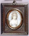 Portrait Miniature of Anna Maria Blunt - Henry Edridge