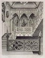 Staircase at Strawberry Hill - (after) Edwards, E