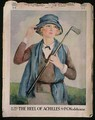 Portrait of a woman golfer cover of The Chicago Tribune - Maude Martin Ellis