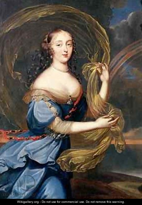 Francoise Athenais de Rochechouart de Mortemart 1640-1707 Marquise of Montespan as Iris - Louis Ferdinand (the Younger) Elle