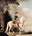 Equestrian Portrait of Catherine II the Great of Russia - Vigilius Erichsen