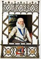 Portrait of Edward Somerset 4th Earl of Worcester from Memoirs of the Court of Queen Elizabeth - Sarah Countess of Essex